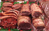 meat samples